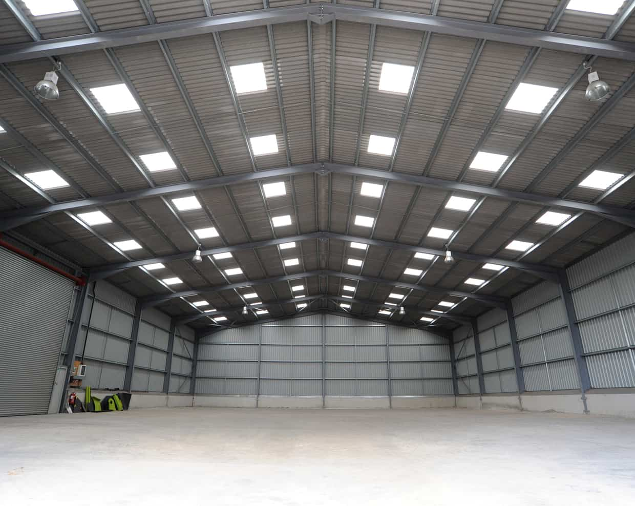 22000 sqft Commercial/ Industrial Warehouse with 100+ KW Power, 8 meter Height, Insulated Ceiling