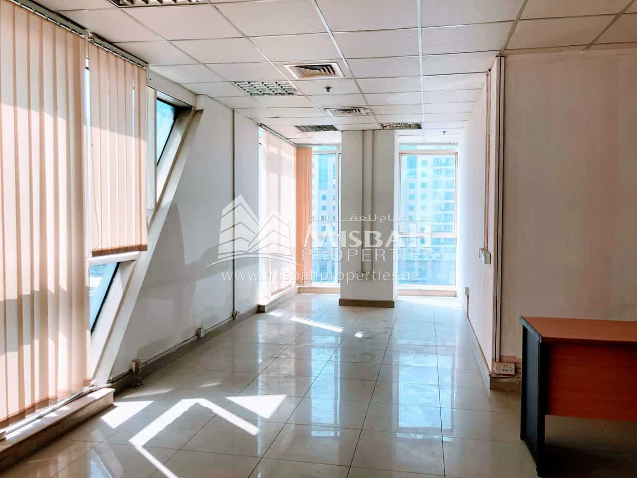 1,163 sq.ft, Fitted Office, 6 cheques, One Month Free near Al Mulla Plaza, Al Nahda, Dubai