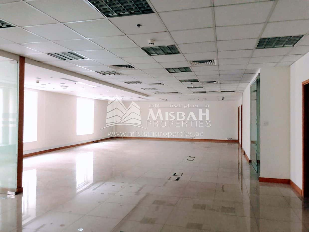 891 sq.ft to 2074 sq.ft | AED 50/sq.ft | Chiller Free | upto 2 Months Free | Fully Fitted Office in OUD METHA