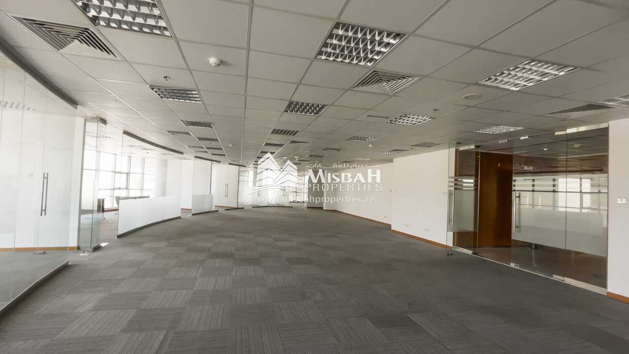 10,469 sq.ft Fitted office space with parking in Commercial Tower near Deira City Center