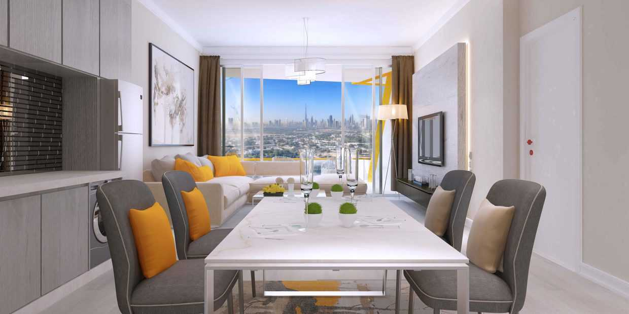 Two Bedroom Apartment in Al Jaddaf completing in April 2022 with Huge Balcony and Open Kitchen