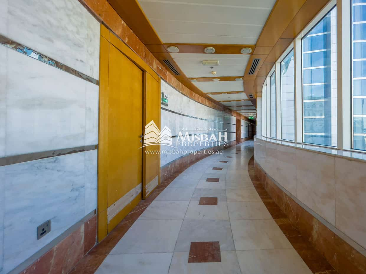 3,686 sq.ft. Office @ AED 50/sq.ft. with Free Chiller, Grace Period, Multiple Parking Near Deira City Center