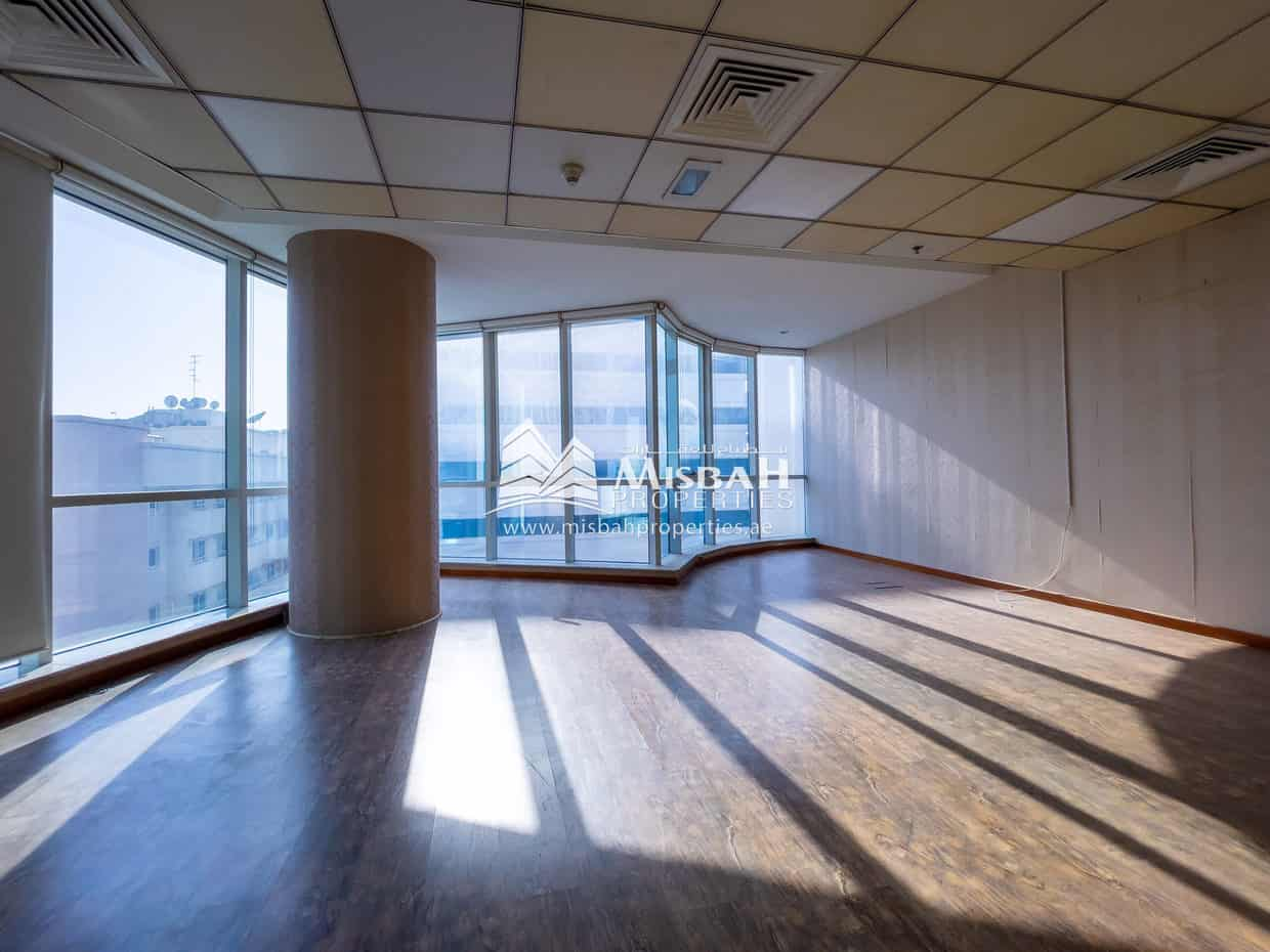 AED 55/sq.ft for 1,365 sq.ft.   Fully Fitted Office with Free Chiller near Deira City Center