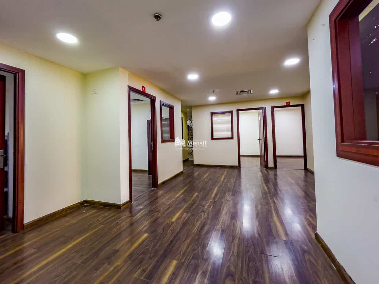 1,172 sq.ft. Fully Fitted, Partitioned, Ready to move with Free Chiller, One Parking in Abu Hail