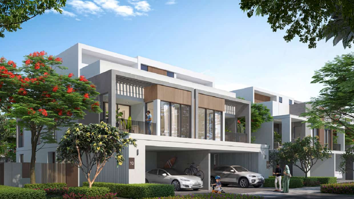 Three Bedroom Townhouse with Post-Completion of 2 years payment plan, completion June 2024.